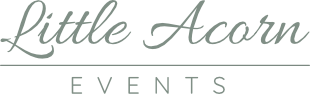 Little Acorn Events Logo
